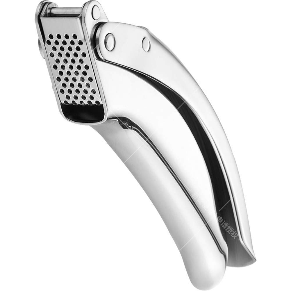 Framy Ginger Garlic Press Crusher Best Stainless Steel Mincer & Crusher Easy Squeeze, Rust Proof Safe, Easy Clean by Framy