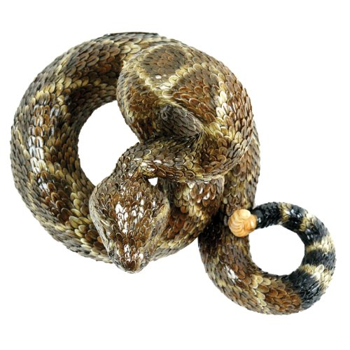 Michael Carr Designs 80057 Western Diamondback Rattlesnake Outdoor Statue, Large by Michael Carr Designs (Image #2)
