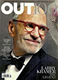* THE OUT 100 ISSUE * Larry Kramer * Andrej Pejic * Kathy Griffin * Jesse Tyler Ferguson * Gay and Lesbian Interest * December, 2011/January, 2012 Out Magazine Issue Number/#210