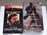 Kevin Costner 2 pack VHS (Wyatt Earp / Dances With Wolves)