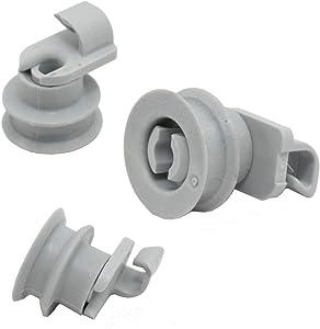 Whirlpool W99003147 Dishwasher Dishrack Roller Genuine Original Equipment Manufacturer (OEM) Part