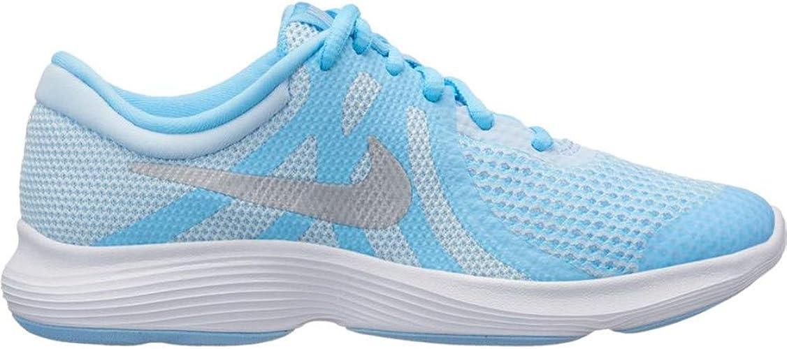 Nike Revolution 4 (GS), Zapatillas para Mujer, Multicolor (Cobalt Tint/Metallic Silver/Blue Chill 001), 39 EU: Amazon.es: Zapatos y complementos