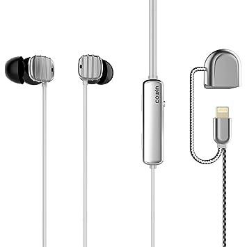 COWIN HE16 Auriculares Bluetooth con reducción de ruido acústico,Auriculares con cable y micrófono de reconocimiento de oído estéreo, Dispositivos Apple ...