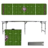 NCAA Texas A&M University Aggies Football Field Version Folding Tailgate Table, 8'