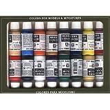 Vallejo Napoleonics - Set de pintura acrílica (16 unidades), multicolor