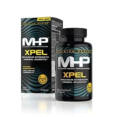MHP Xpel Maximum Strength Diuretic Capsules, 80 Capsules (Packaging May Vary)