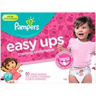 Pampers Girls Easy Ups Training Underwear,  2T-3T (Size...