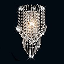 Surpars House Crystal Wall Lamp,Silver