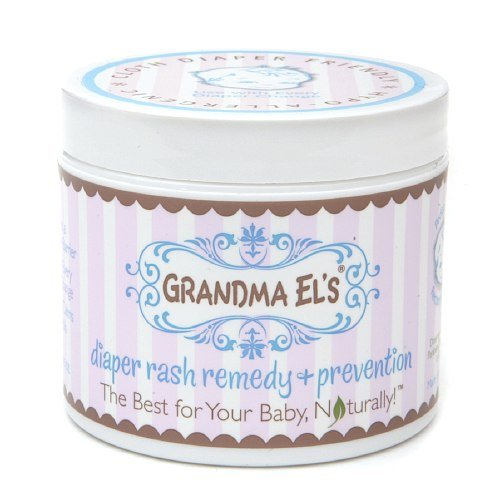 Grandma El's Diaper Rash Remedy and Prevention 3.75 oz(Pack of 3) by Grandma El's