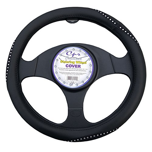 steering wheel cover crystal - 8