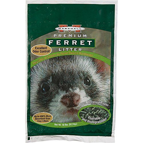 Marshall Ferret Litter, 18-Pound Bag by Marshall Pet Products