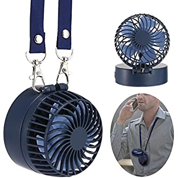 Amazon Com Easyacc Battery Operated Necklace Fan