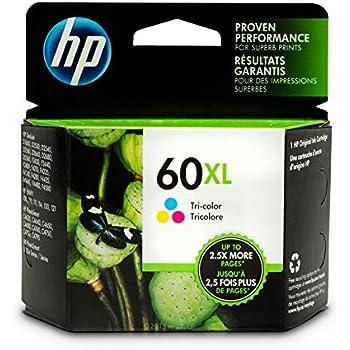 Amazon.com: HP - HP 60XL, (CC641WN) High Yield Black ...