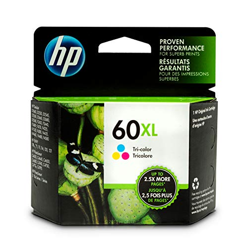HP 60XL | Ink Cartridge | Tri-color | CC644WN (Ink C4700 Hp)