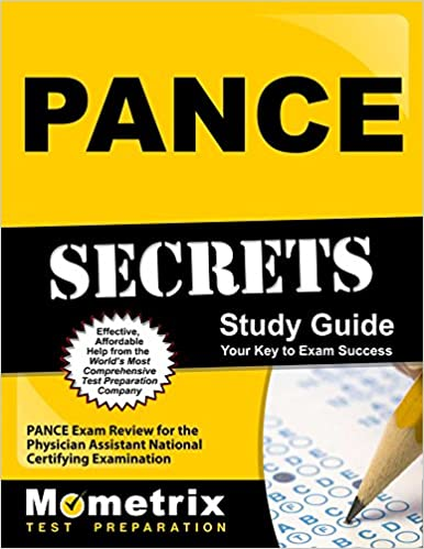 Pance secrets study guide pance exam review for the physician pance secrets study guide pance exam review for the physician assistant national certifying examination 1 stg edition malvernweather Images