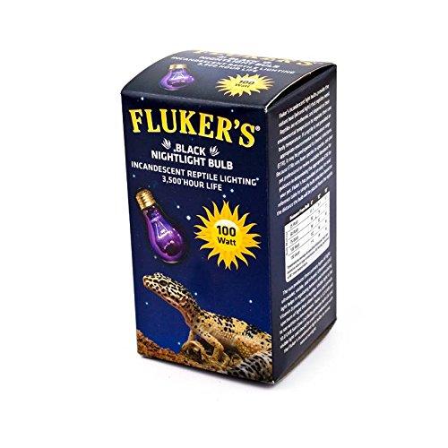 Fluker's Black Nightlight Bulbs for Reptiles 100 watt