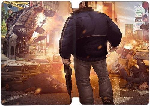 Ipad Mini 1 2 3 Case Gta Grand Theft Auto Picture Fan Art