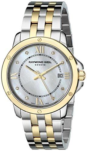 Raymond Weil Women's 5391-STP-00995 Tango Analog Display Swiss Quartz Two Tone Watch