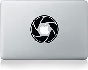 Camera Aperture Vinyl MacBook Decal/Laptop Decal - Fits MacBook Air (11/13), MacBook Pro (13/15), MacBook Pro Retina (13/15) and MacBook Retina (12)