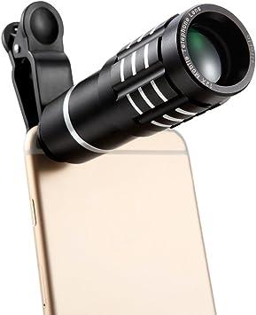Siroflo Kit Universal 12x Smartphone Con Telescopio, Cámara Con ...