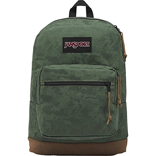 (JanSport Right Pack Digital Edition Laptop Backpack - Woven Camo )