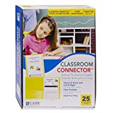 C-Line Classroom Connector School-to-Home Folders, Yellow, 25 per Box (32006)