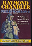Image of Raymond Chandler: Four Complete Philip MARLOWE Novels- The Lady in the Lake; Farewell My Lovely; The High Window; The Big Sleep
