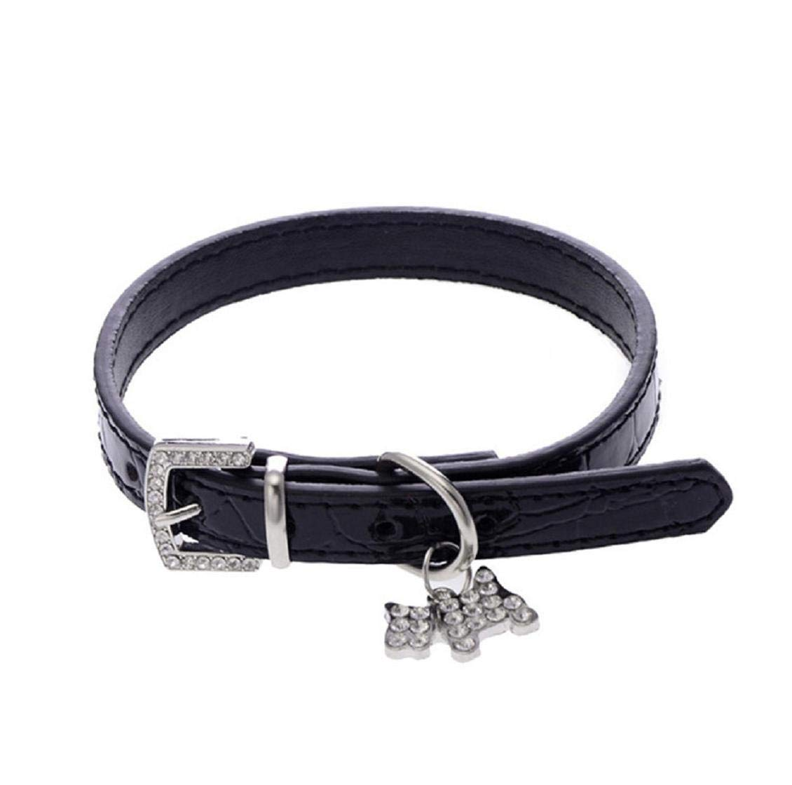 Collier de Collier Tour de Cou pour Chiot Chat avec Motif de Crocodile Exquis Colliers de Bretelles r/églables pour Chien Barlingrock Colliers de Chiot pour Petit Chien