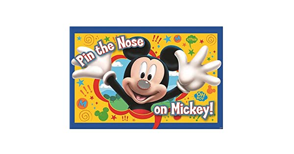 Amazon.com: Mickey Party ponga la nariz de Mickey ...