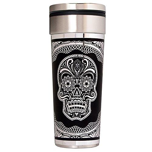 Great American Products Silver Sugar Skull