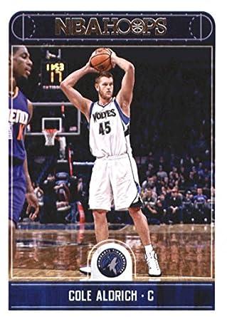 cadb83b4879 Amazon.com  Basketball NBA 2017-18 Panini Hoops  224 Cole Aldrich ...