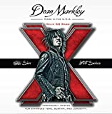 Dean Markley  Nikki Sixx Helix SS Bass Guitar Strings, 50-110, 2620, Medium