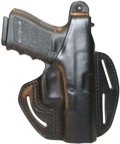 BlackHawk® CQC™ 3 - Slot Pancake Holster Glock 19 / 23 / 32 / 36, BLACK, RH ()