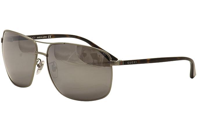 34a7f2b9812 Gucci Men s GG0065SK 002 Sunglasses