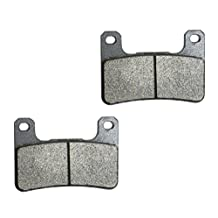 CNBK Front Right Brake Pads Semi Met fit for SUZUKI Street Bike GSX-R1000 GSXR1000 GSXR GSX R GSX-R 1000 K5 05 06 2005 2006 1 Pair(2 Pads)