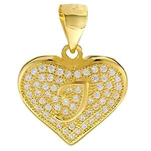 Aurora Women's Heart Shape Pendant - Silver