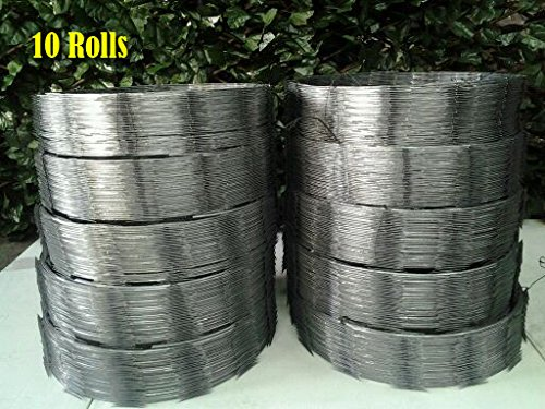 Razor wire ribbon barbed quot coils feet