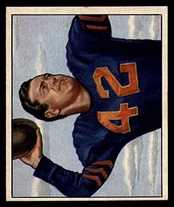 Amazon.com  Football NFL 1950 Bowman  27 Sid Luckman NM Near Mint ... 98924b58a