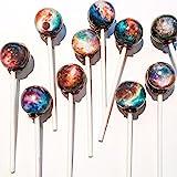 美しすぎて食べられない!【 ギャラクシーキャンディー】 Galaxy Lollipops (10個パック) [並行輸入品]