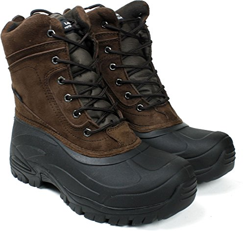 Style LABO Waterproof Boots LB 6 Brown903 for Leather Snow 0A7P0q