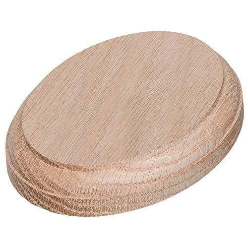 JMP Wood Oval Rosette 210 (Red Oak Wood)