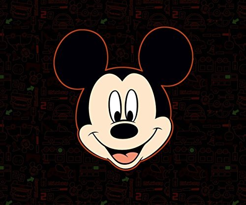 Mickey Mouse Pad - 12x10 Inch Disney Cute Mickey Mouse Large Mouse Pad Mouse mat Waterproof