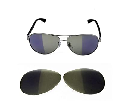 d8a3ed1ba NEW TRANSITION PHOTOCHROMIC LENS FOR RAY BAN TECH 8313 58MM SUNGLASSES:  Amazon.co.uk: Clothing