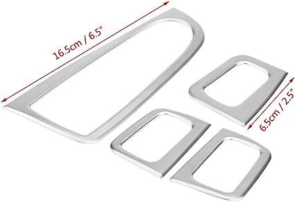 Auto Tür Fenster Schalter Button Abdeckung Aufkleber Innen Zubehör Set Für C Klasse W205 Glc Klasse X253 2015 2018 Auto