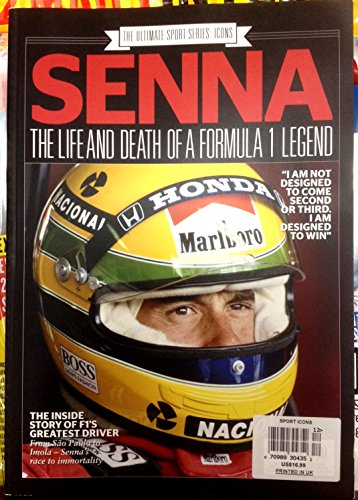 Formula 1 Magazine - The Ultimate Sports Series Icon Magazine - Ayrton Senna; Life & Death Of Formula 1 Legend