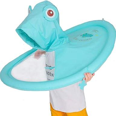 Cute Cartoon Animal Style Waterproof Toddler Kids Waterproof Raincoat Rainwear Gear Shan-S Childrens Rainwear