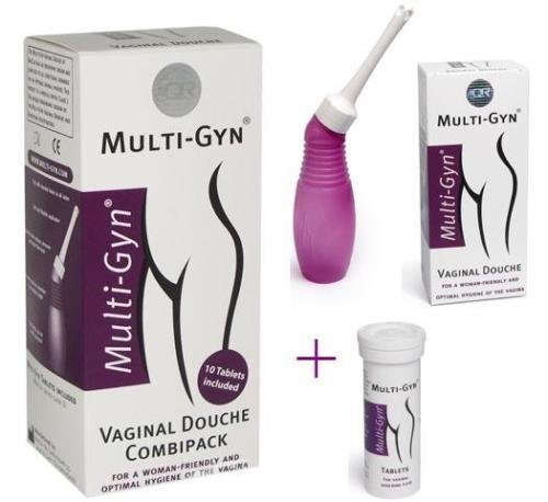 BIOCLIN Multi-Gyn Vaginal Spülung COMBIPACK + Multi-gyn Brause Tabletten 10 Health Care