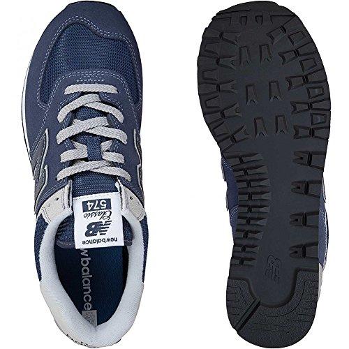 New Balance Sneaker 574 Wildleder/Mesh/Synthetik Dunkelblau Dunkelblau