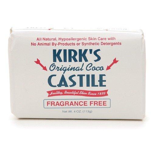Kirk's Original Coco Castile Bar Soap, Fragrance Free 1 ea