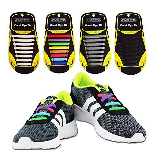 Shoelaces Elastic Waterproof Silicone Sneaker